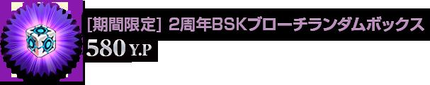 [期間限定]2周年BSKブローチボックス(580Y.P)